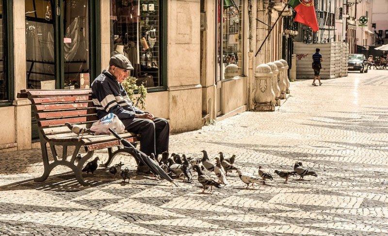 Uitlaatservice voor bejaarden